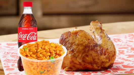 Chicken Republic - Quarter Rotisserie Meal