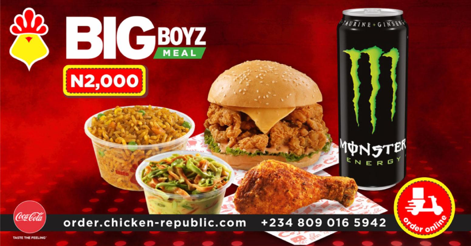Chicken Republic - Big Boz Meal