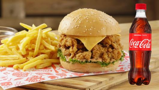 Chicken Republic - Chief Burger Meal