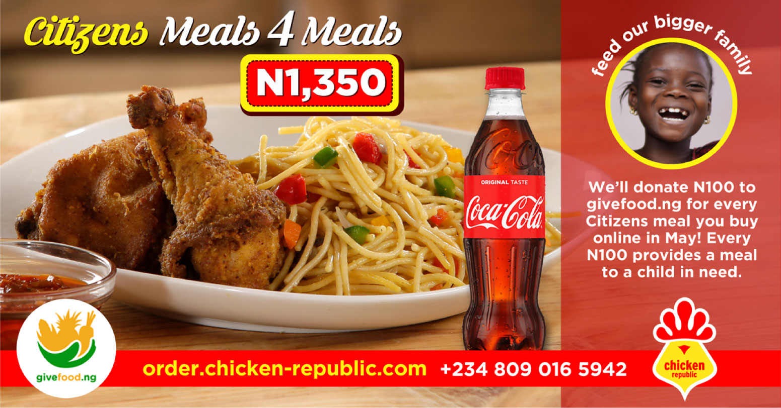Chicken Republic - Citizens Meals 4 Meals