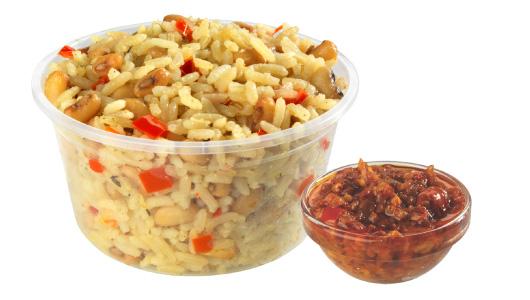 Chicken Republic - Rice & Beans