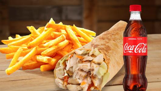 Chicken Republic - Wrapstar Meal